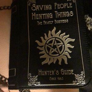 Leather Supernatural purse